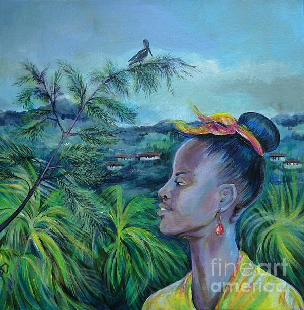 Jamaica. Part Two Print by Anna  Duyunova