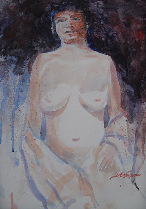Jane Print by John  Svenson
