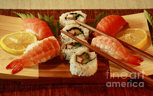 Japanese Cuisine Print by Inspired Nature Photography By Shelley Myke