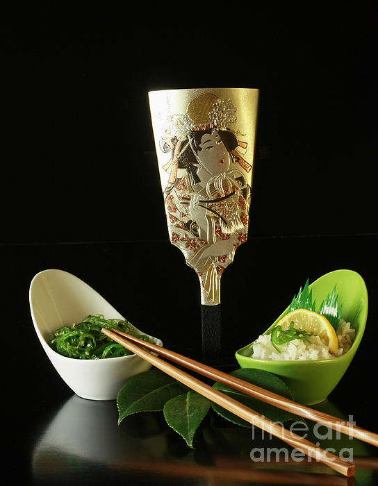 Japanese Fine Dining Print by Inspired Nature Photography By Shelley Myke