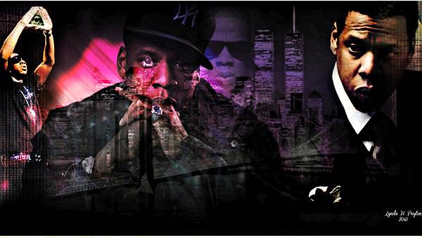 Jay Z Print by Lynda Payton