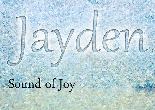 Jayden - Sound Of Joy Print by Christopher Gaston