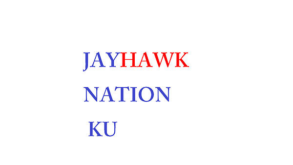 Jayhawk Nation Print by Aaron Martens