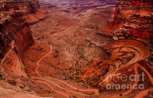 Jeep Trails Print by Robert Bales