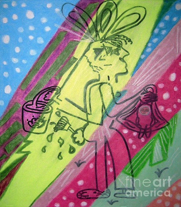 Jelly Beans Print by Lois Picasso