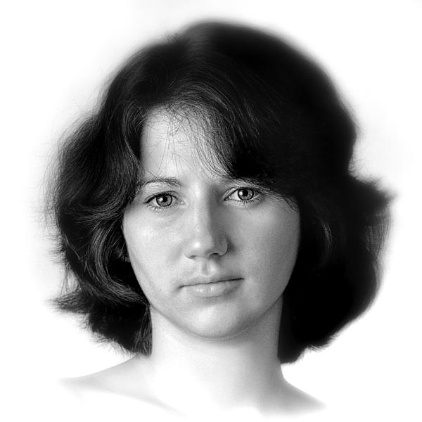 Jennifer Print by Dennis James