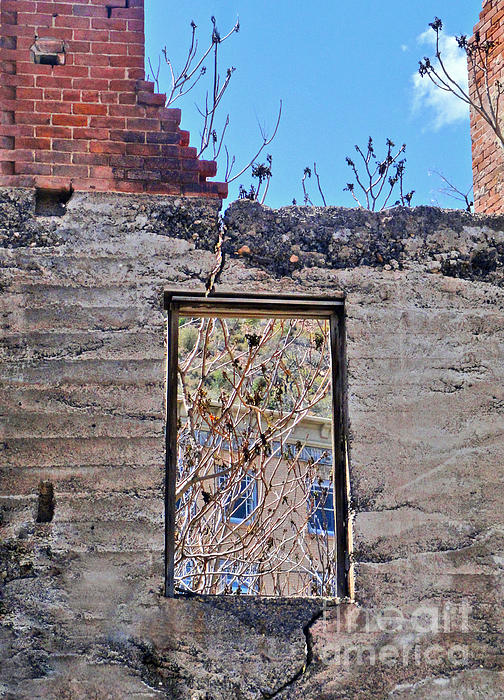 Jerome Arizona - Ruins - 02 Print by Gregory Dyer