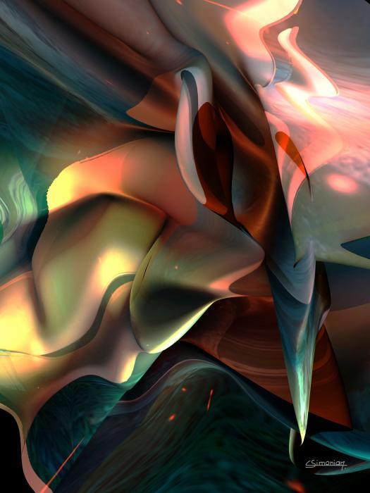 Jerome Bosch Atmosphere Print by Christian Simonian