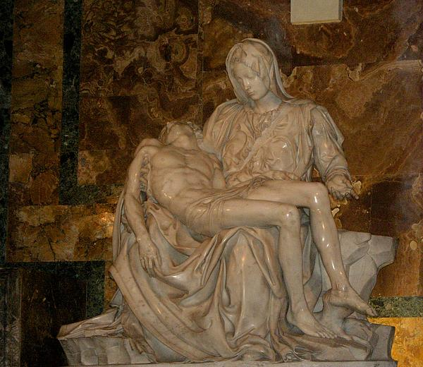 Jesus And Mary Print by Bonita Hensley