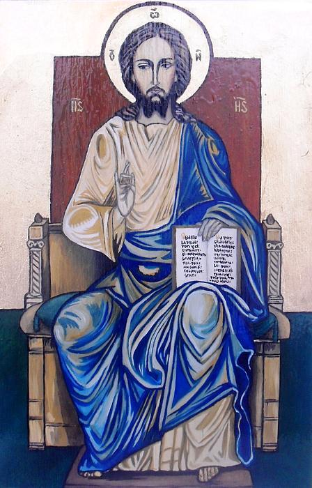 Jesus Christ Print by Ciprian Alexandrescu