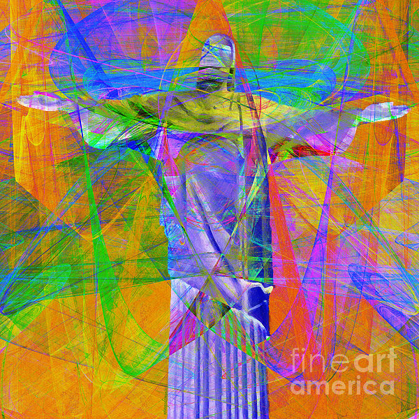 Jesus Christ Superstar 20130617 Square Print by Wingsdomain Art and Photography