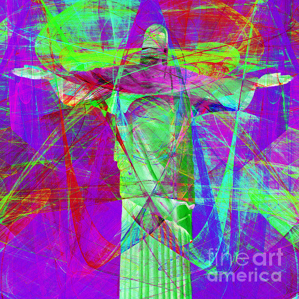 Jesus Christ Superstar 20130617m118 Square Print by Wingsdomain Art and Photography