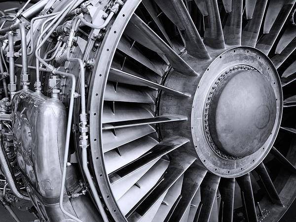 Jet Engine Print by Kevin Garrett