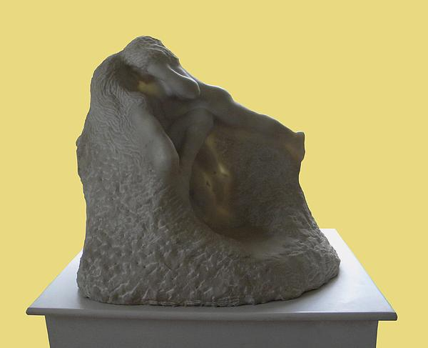 Jeux De Nymphes By Rodin Print by Manuela Constantin