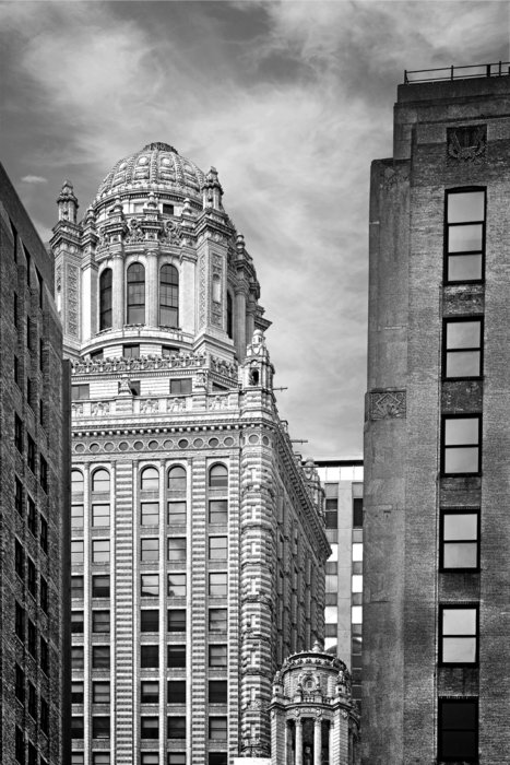 Jewelers' Building - 35 East Wacker Chicago Print by Christine Till