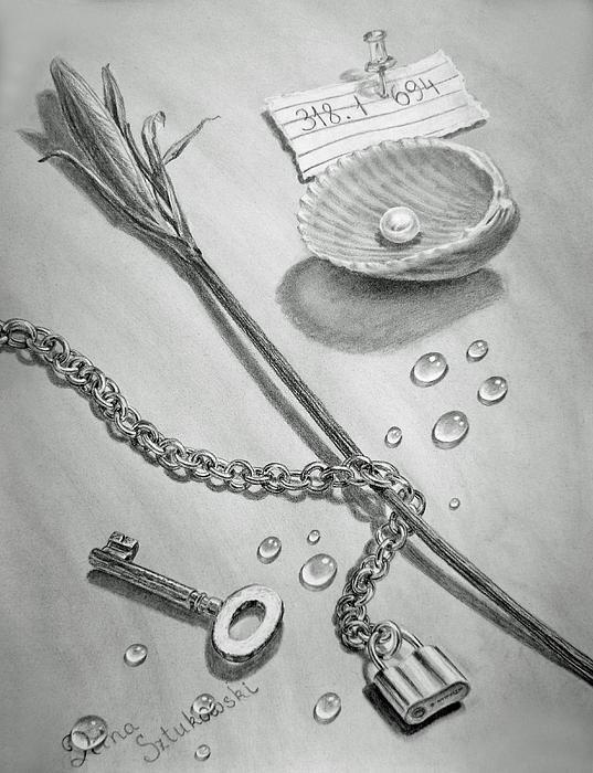 Jewels Of Love Print by Irina Sztukowski