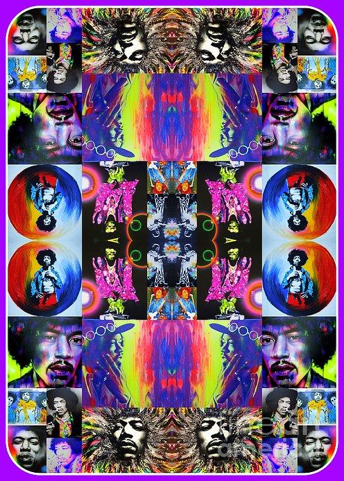 'jimi Kaleidoscope I' Print by Christian Chapman Art