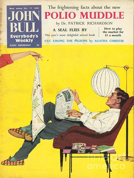 John Bull 1950s Uk Dish Washing Print by The Advertising Archives