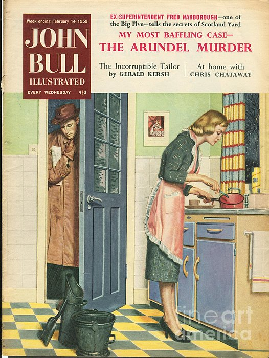 John Bull 1959 1950s Uk Cooking Print by The Advertising Archives