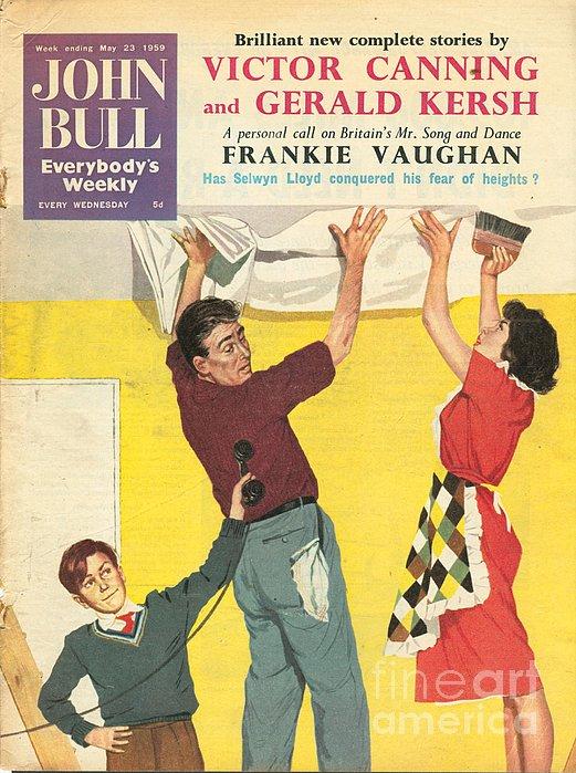 John Bull 1959 1950s Uk Decorating Diy Print by The Advertising Archives