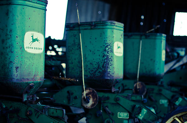 John Deere Print by Off The Beaten Path Photography - Andrew Alexander