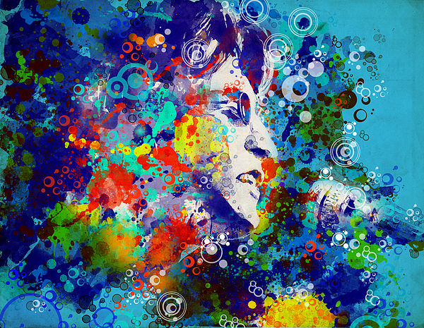 John Lennon 3 Print by MB Art factory