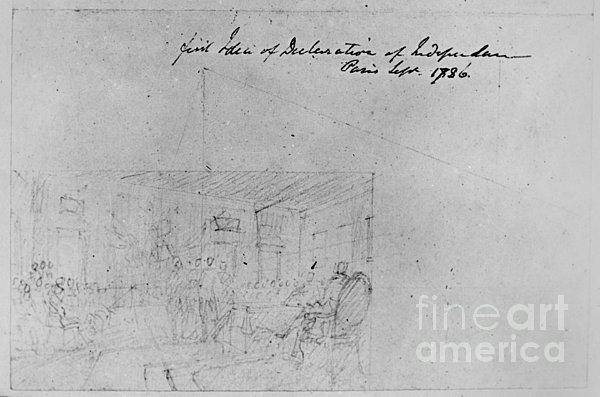 John Trumbull Sketch Print by Granger