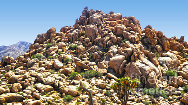 Joshua Tree - 01 Print by Gregory Dyer