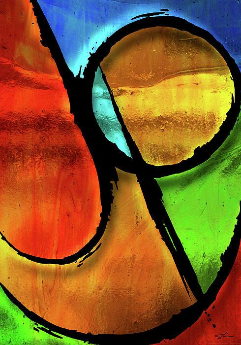 Joy-abstract Print by Shevon Johnson