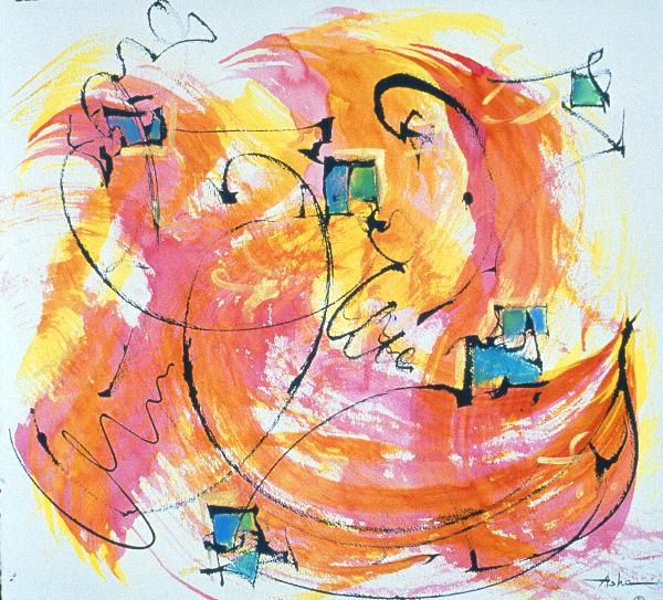 Joy Print by Asha Carolyn Young