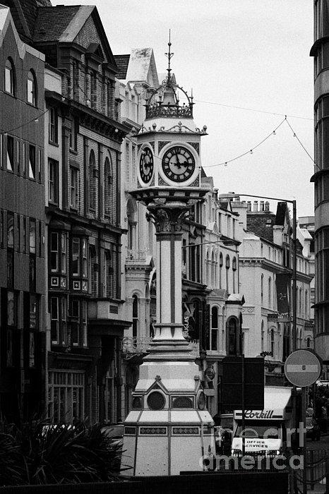 Jubilee Clock For Queen Victorias Golden Jubilee Douglas Isle Of Man Print by Joe Fox
