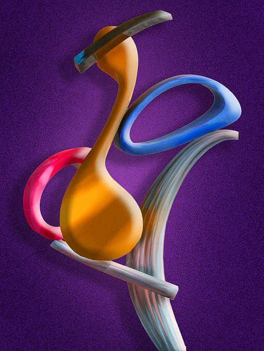 Juggling Act Print by Paul Wear