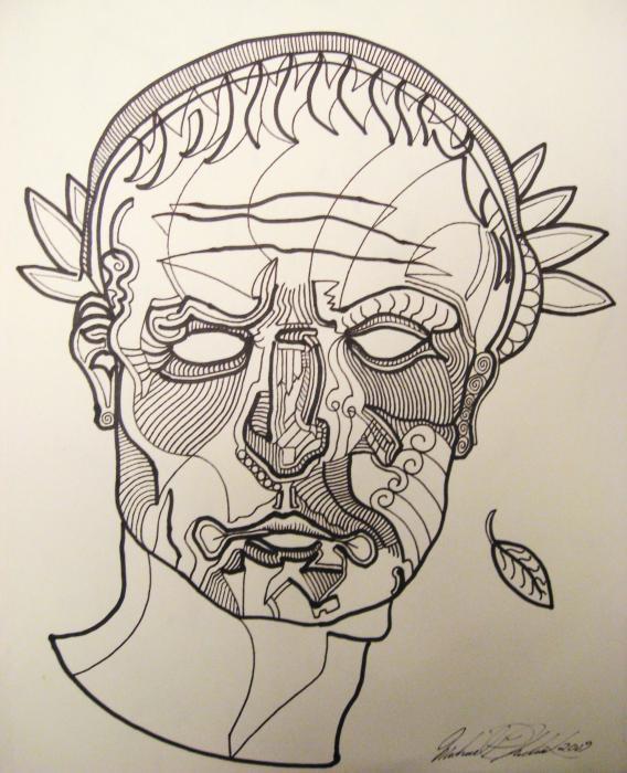 Julius Caesar Print by Michael Kulick