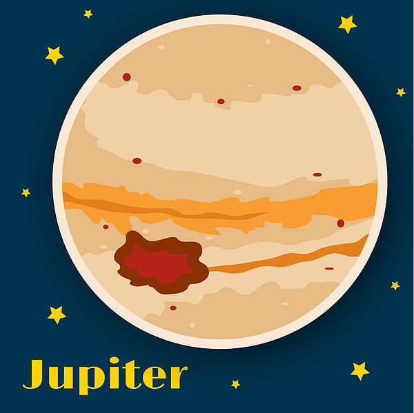 Jupiter Print by Christy Beckwith