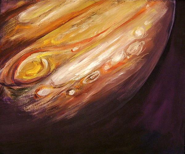 Jupiter Print by Sheila Diemert