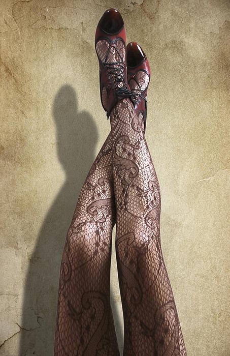 Just Legs Print by Svetlana Sewell