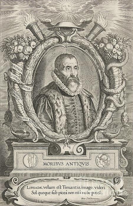 Justus Lipsius, Belgian Scholar Print by Photo Researchers