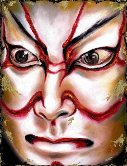 Kabuki One Print by Hiroko Sakai