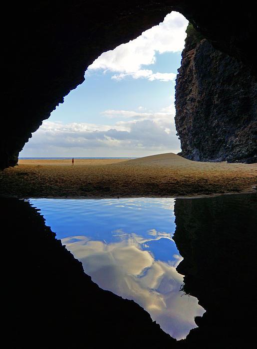 Kevin Smith - Kalalau Beach Cave Kauai