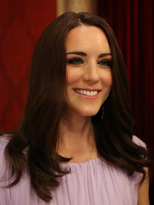 Kate Middleton Duchess Of Cambridge Print by Lee Dos Santos