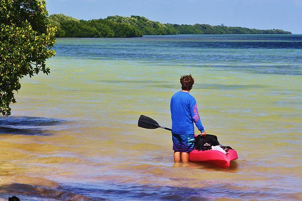 Chuck  Hicks - kayaking the Keys