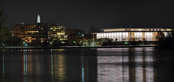 Kennery Center For The Performing Arts - Washington Dc - 01131 Print by DC Photographer