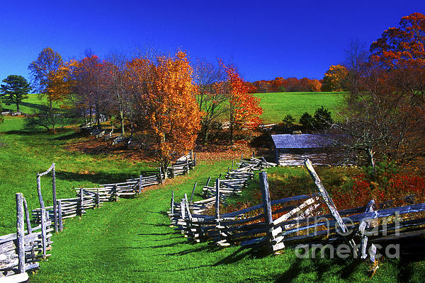 Kentucky Settlement Print by Paul W Faust -  Impressions of Light