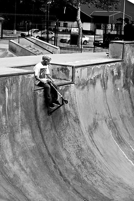 Matt Dunn - Kid and his scooter