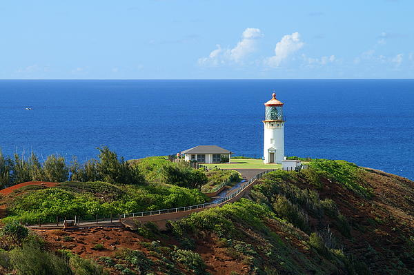 Kilauea Lighthouse Print by Shahak Nagiel