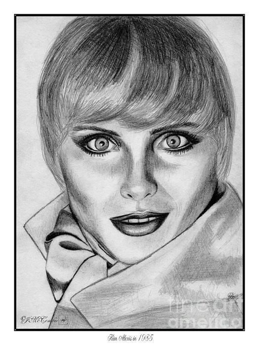 Kim Alexis In 1985 Print by J McCombie
