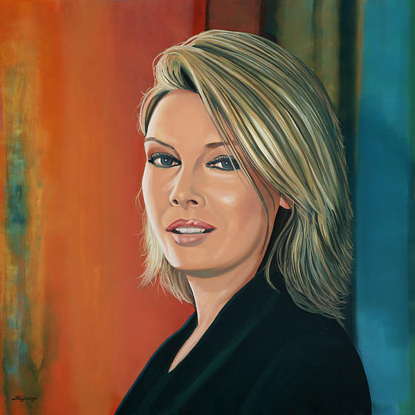 Kim Wilde Print by Paul  Meijering