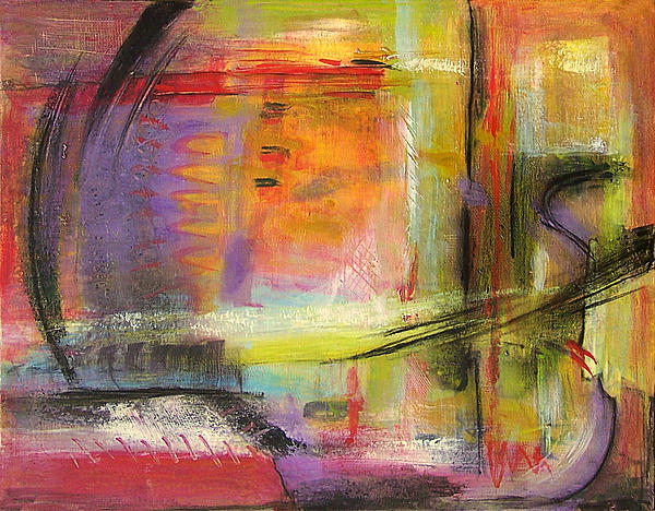Kindness Of Strangers Abstract Print by Blenda Studio