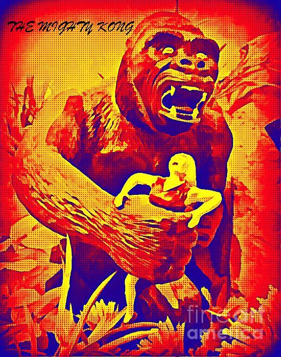King Kong Print by John Malone