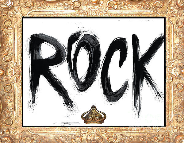 King Of Rock Print by Anahi DeCanio